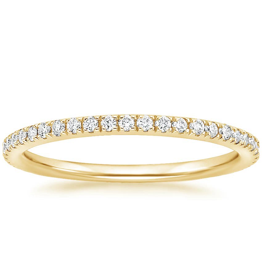 Yellow Gold Luxe Ballad Diamond Ring (1/4 ct. tw.)