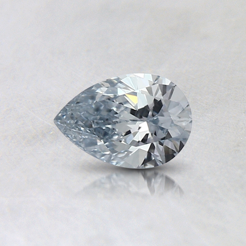 0.30 Ct. Light Blue Pear Lab Created Diamond