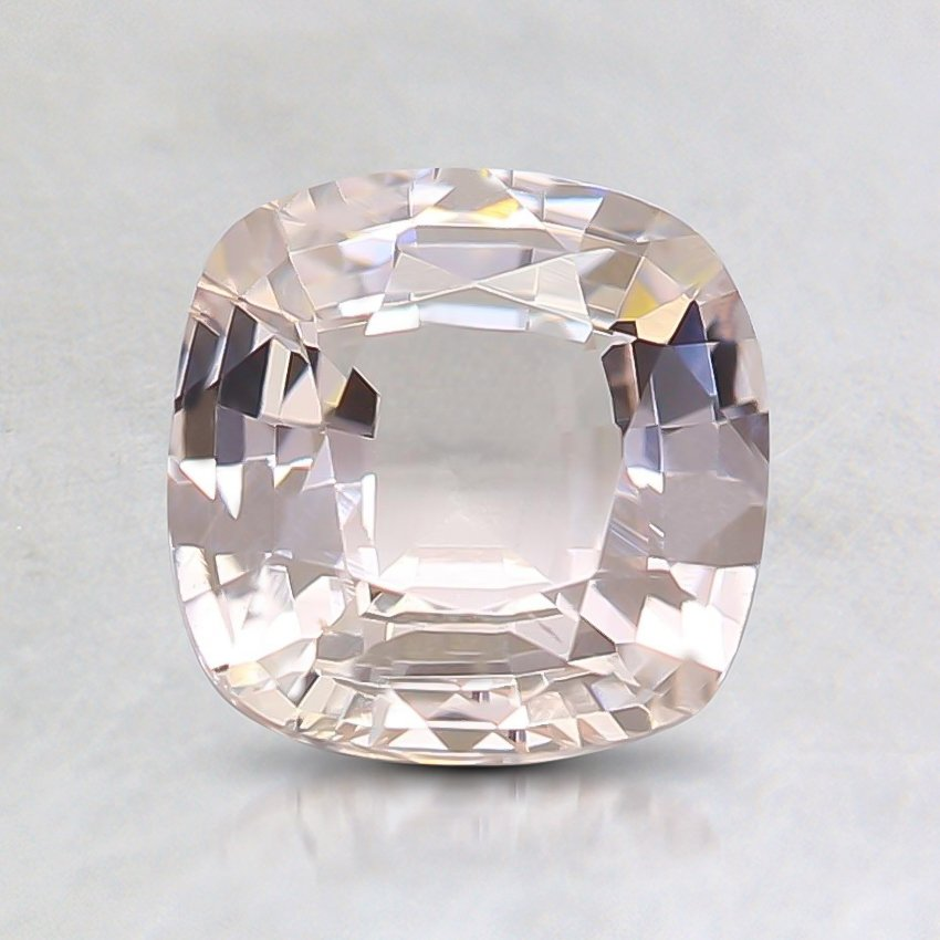 6.5mm Unheated Cushion Peach Sapphire