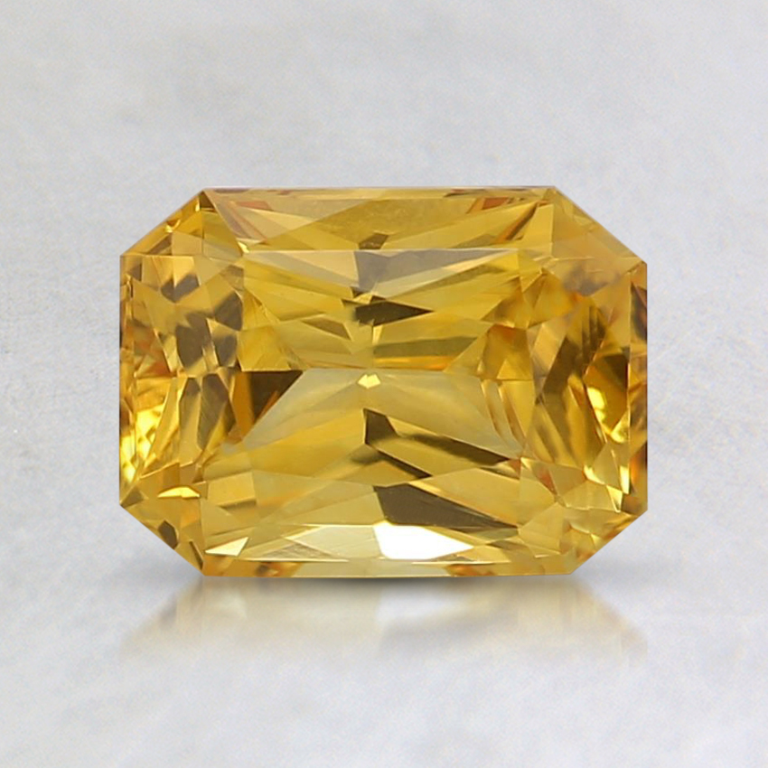 7x5.2mm Yellow Radiant Sapphire
