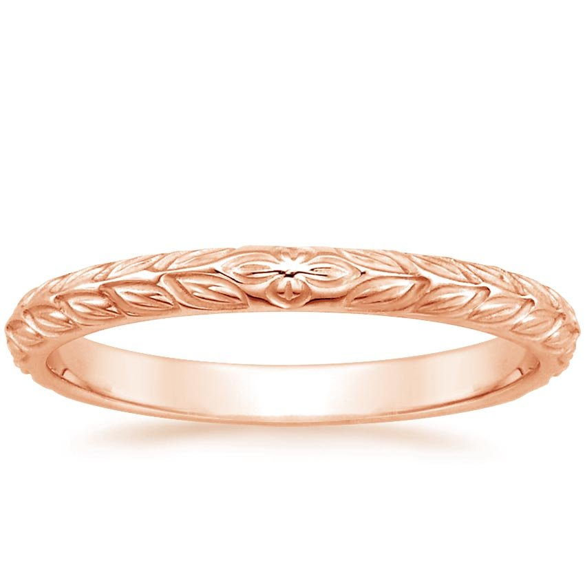 Rose Gold Garland Ring