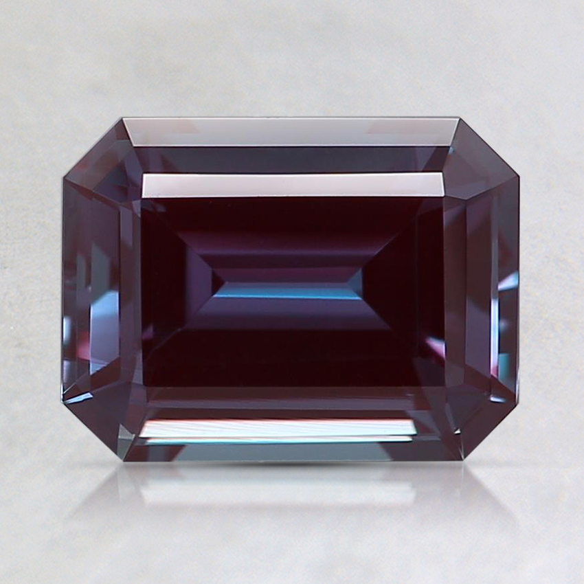 8x6mm Purple Emerald Lab Created Alexandrite