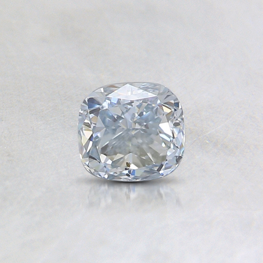 0.40 Ct. Light Blue Cushion Lab Created Diamond