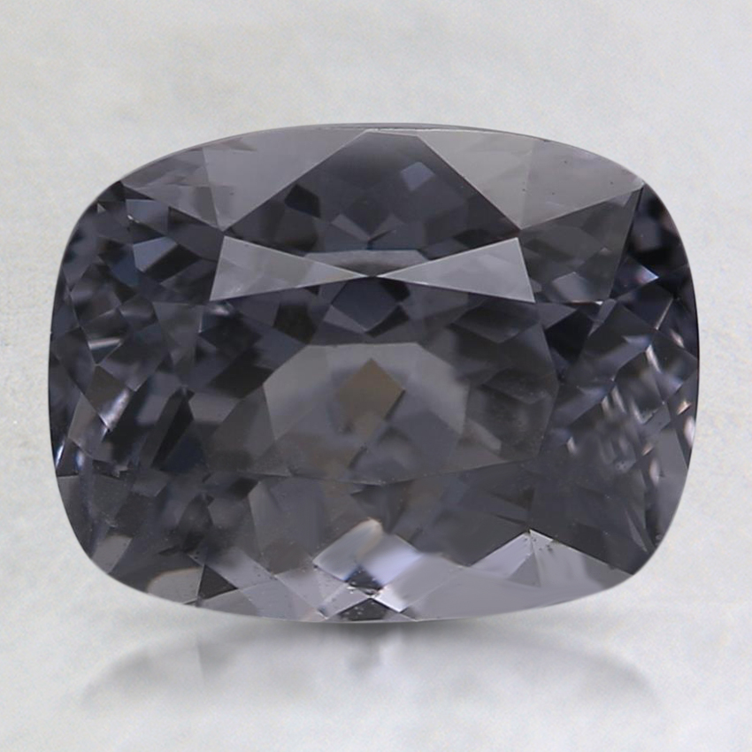 8.9x6.8mm Gray Cushion Spinel