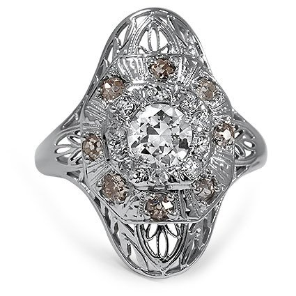 The Stefania Ring, top view