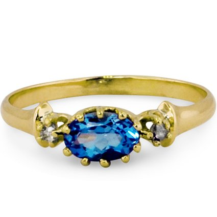 The Elsa Ring, top view
