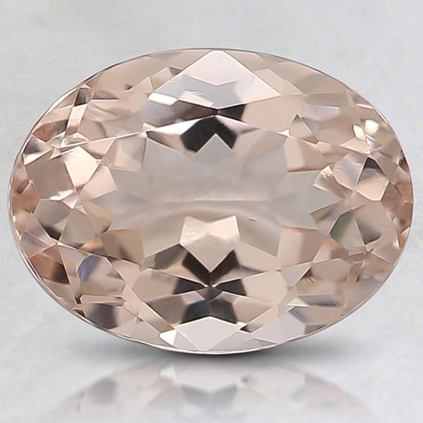 10x8mm Peach Oval Morganite