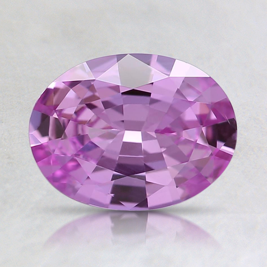 8x6.1mm Pink Oval Sapphire