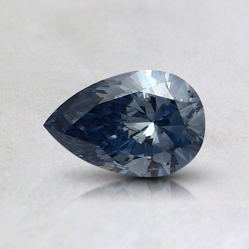 0.45 Ct. Fancy Blue Pear Lab Created Diamond
