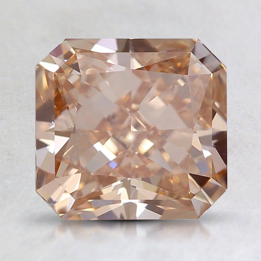 2.53 Ct. Fancy Orange-Brown Radiant Lab Created Diamond
