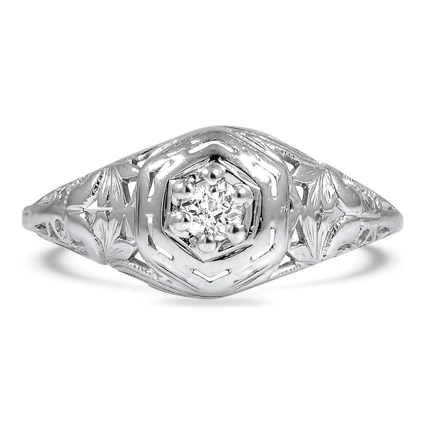 The Adrienne Ring, top view