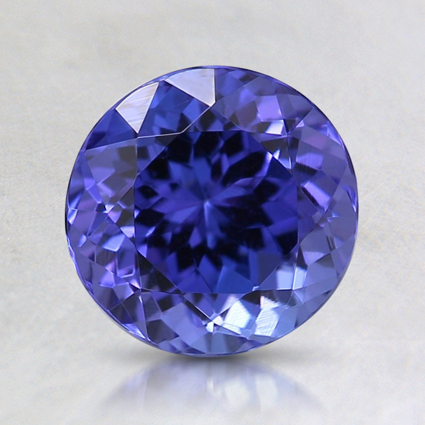 7mm Purple Round Tanzanite