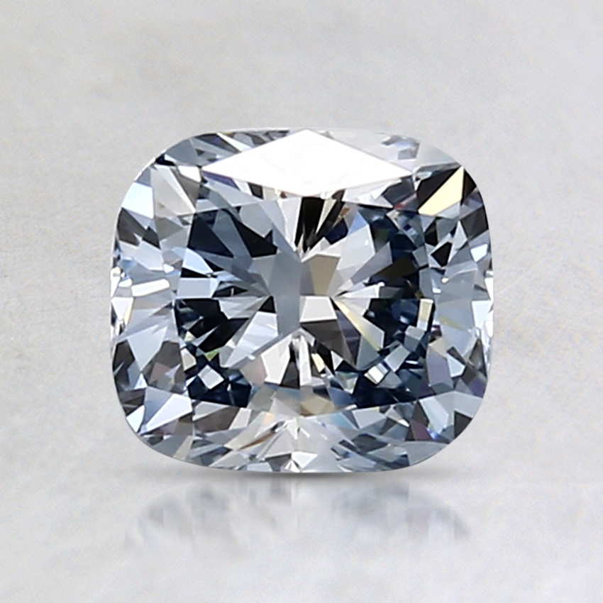 1.10 Ct. Fancy Blue Cushion Lab Created Diamond