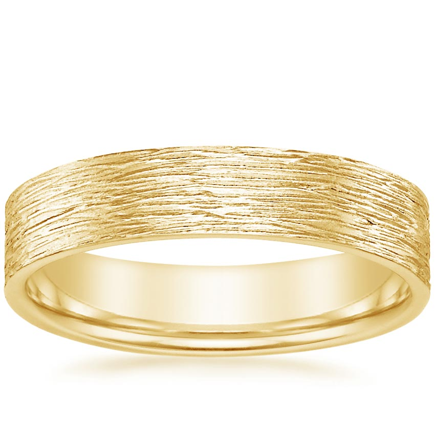 Yellow Gold Pacifica Wedding Ring