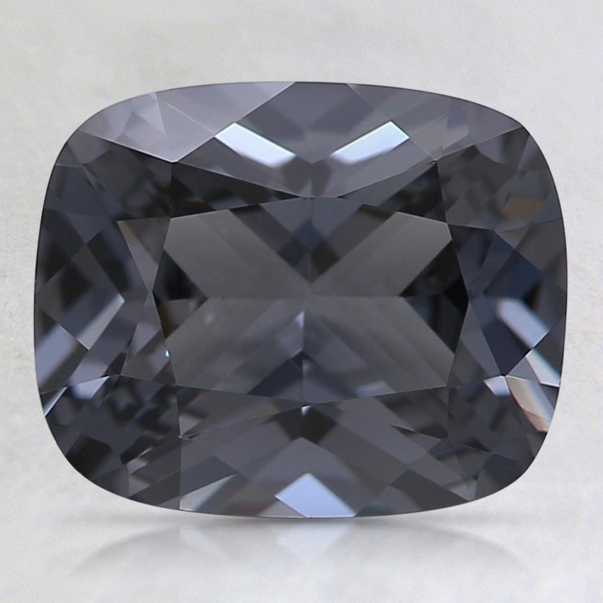9x7.4mm Gray Cushion Spinel
