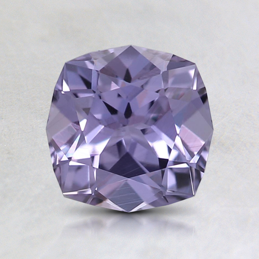 6.6mm Unheated Purple Cushion Sapphire
