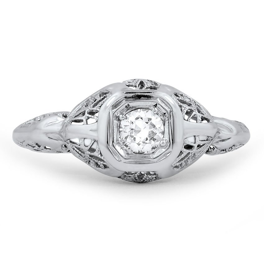 The Jazlyn Ring, top view
