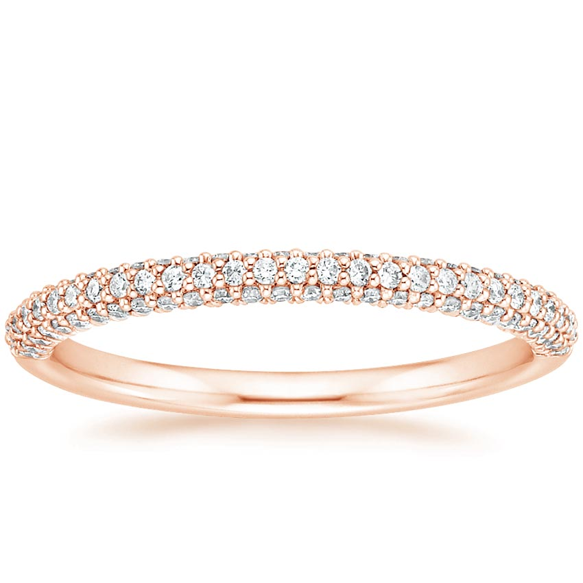 Rose Gold Valencia Diamond Ring (1/3 ct. tw.)