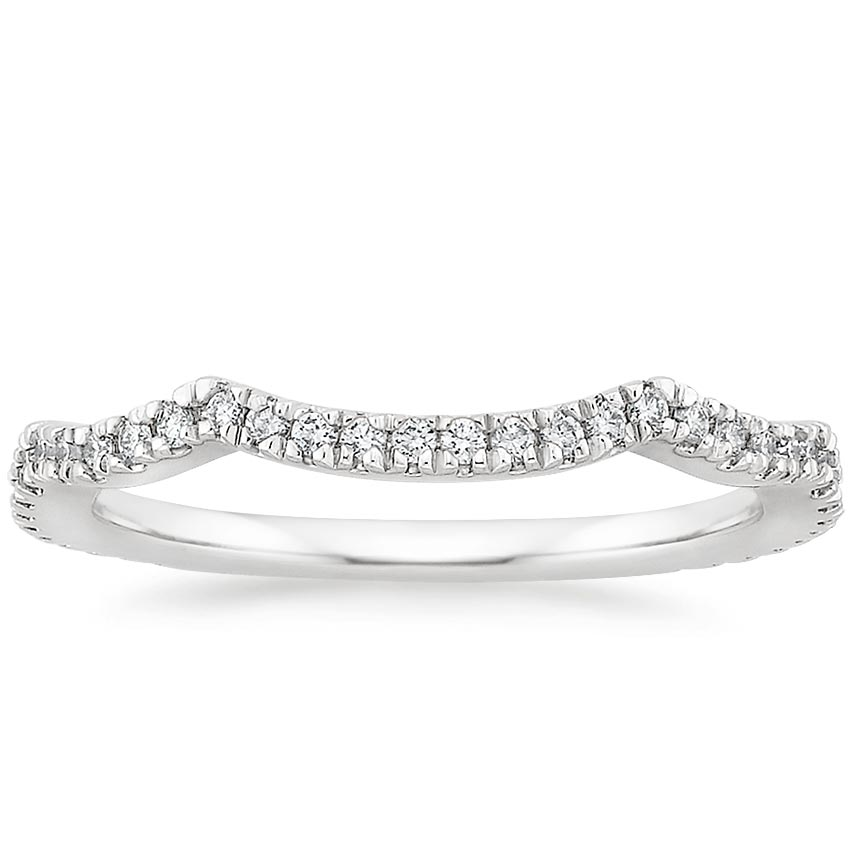 Petite Twisted Vine Contoured Diamond Ring