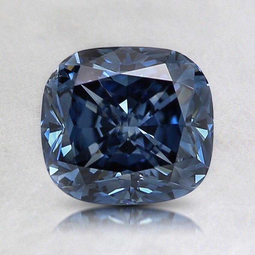 1 53 Ct Fancy Vivid Blue Cushion Lab Created Diamond