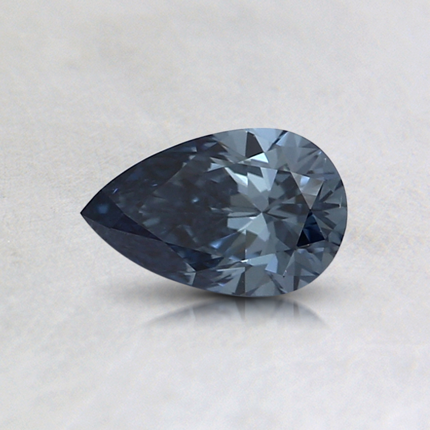 0.38 Ct. Fancy Deep Blue Pear Lab Created Diamond