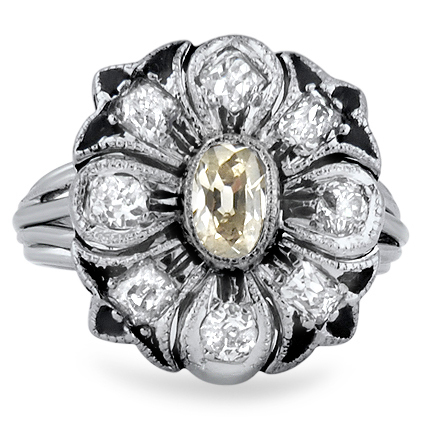 The Iman Ring, top view