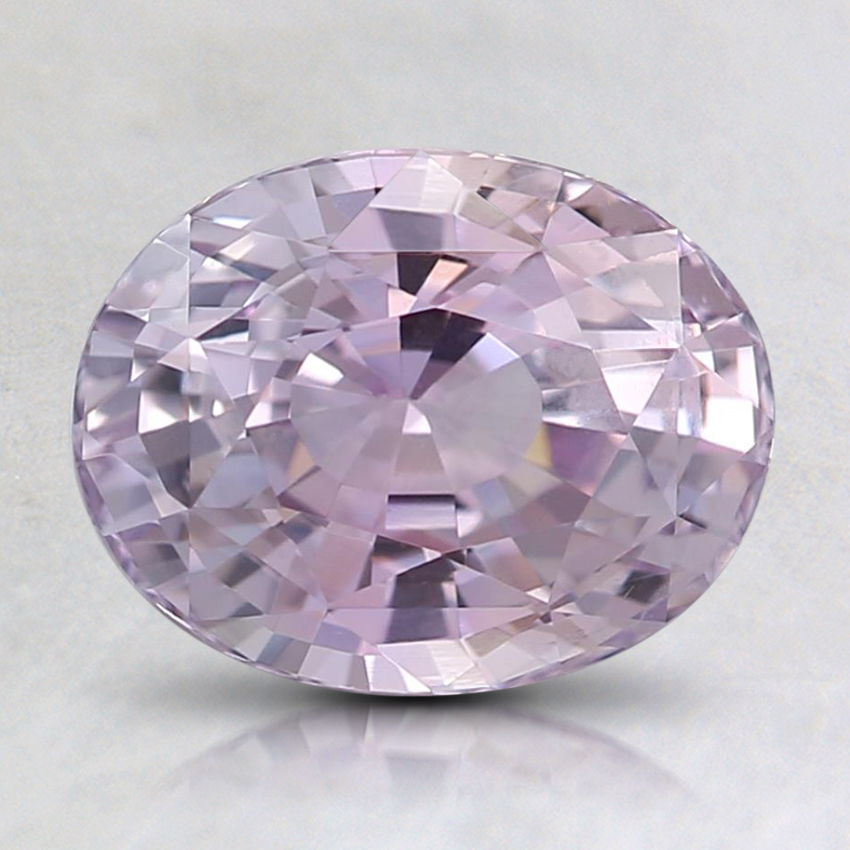 8.4x6.5mm Pink Oval Sapphire