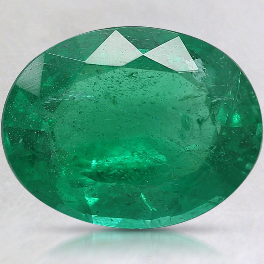 11.7x9mm Oval Emerald