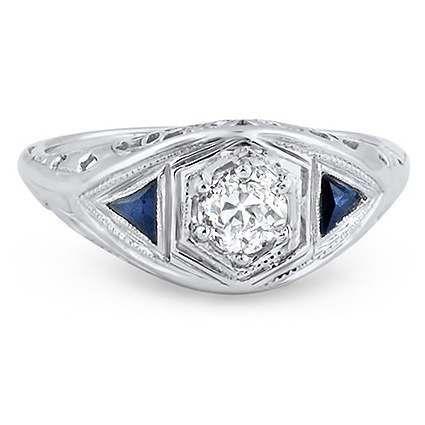 The Bolero Ring, top view