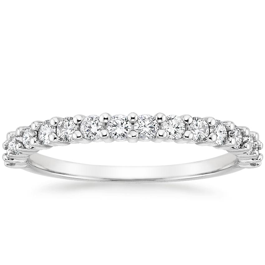 Shared Prong Diamond Ring (1/2 ct. tw.) in Platinum