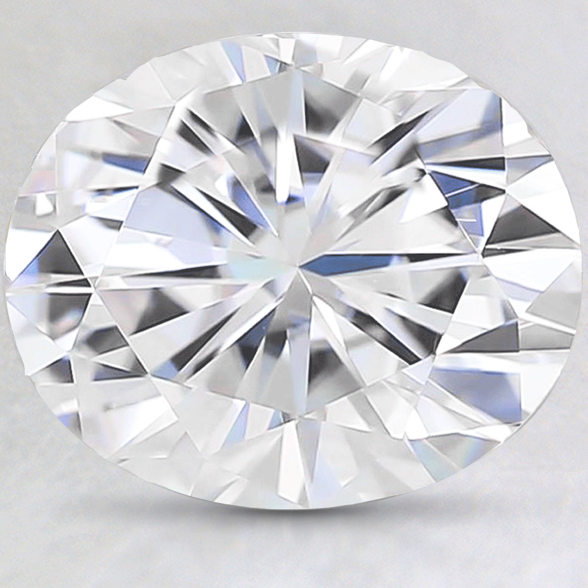 11x9mm Super Premium Oval Moissanite