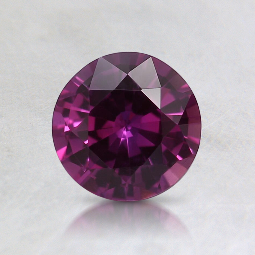 5.9mm Unheated Pink Round Sapphire