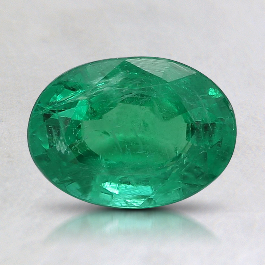 8.1x5.9mm Premium Oval Emerald