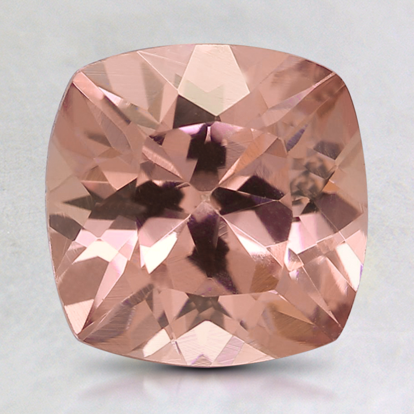 8mm Pink Cushion Garnet