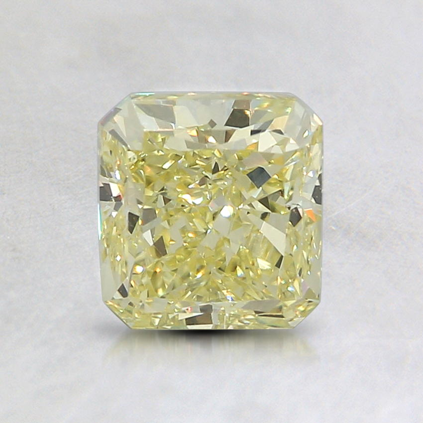 1.11 Ct. Fancy Yellow Radiant Diamond