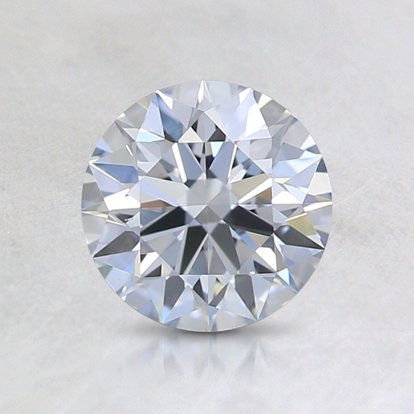 0.86 Ct. Fancy Light Blue Round Lab Created Diamond