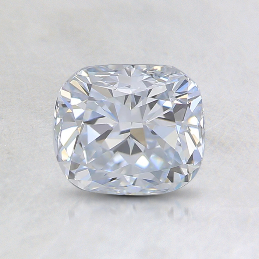 1.01 Ct. Light Blue Cushion Lab Created Diamond