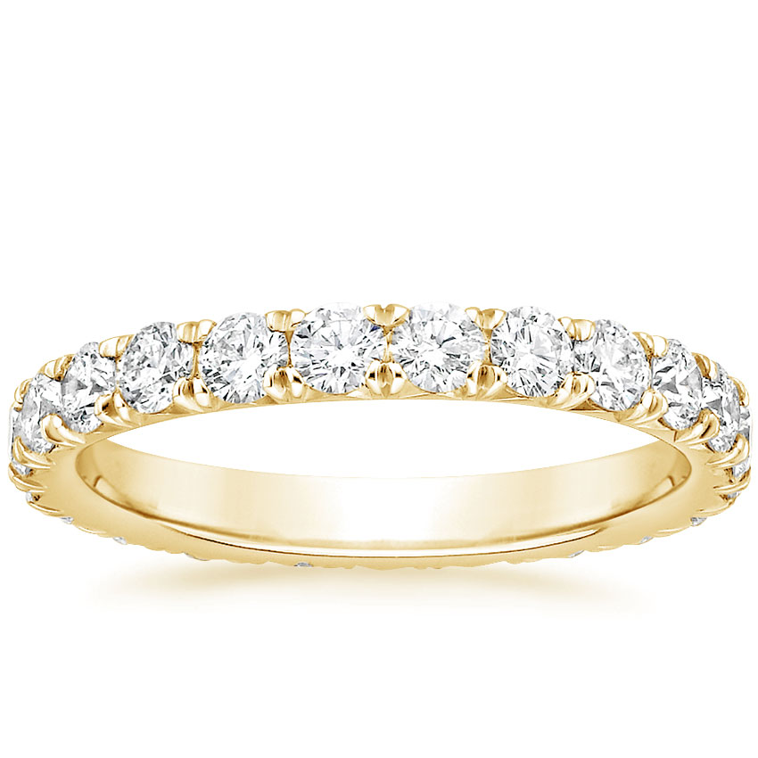 Yellow Gold Luxe Anthology Eternity Diamond Ring (1 1/3 ct. tw.)