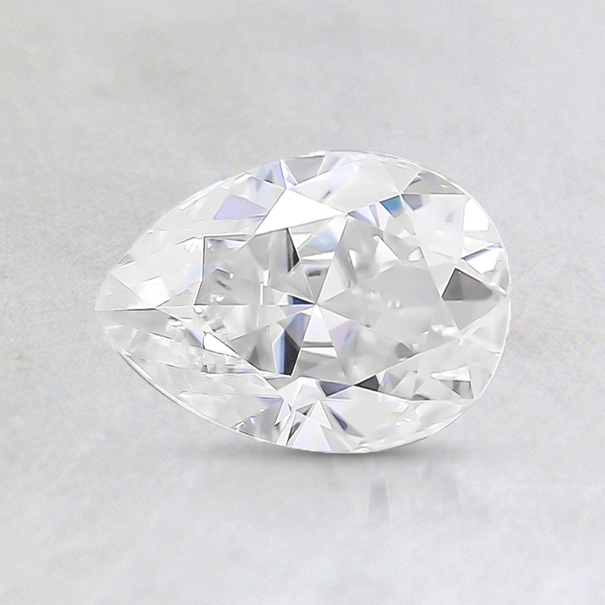 7x5mm Super Premium Pear Moissanite
