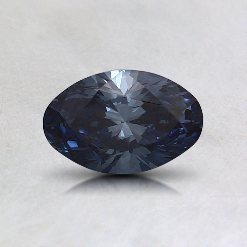 0.47 Ct. Fancy Deep Blue Oval Lab Created Diamond