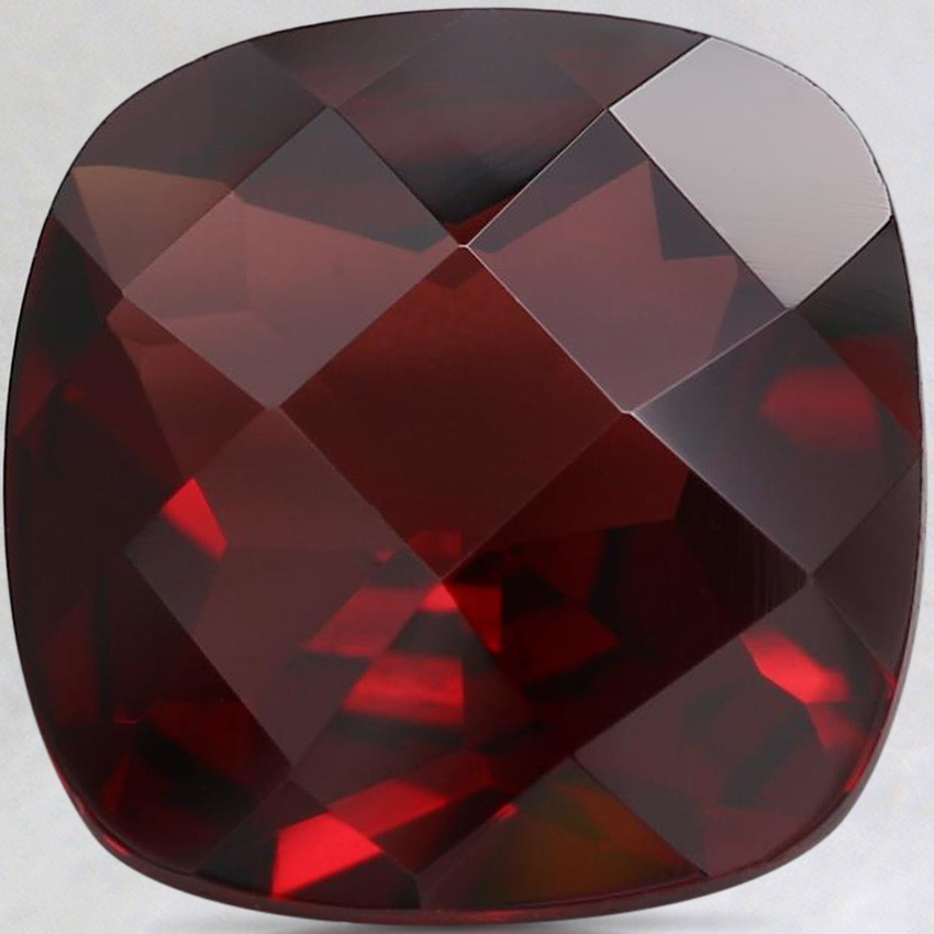 10.1mm Red Cushion Pyrope Garnet