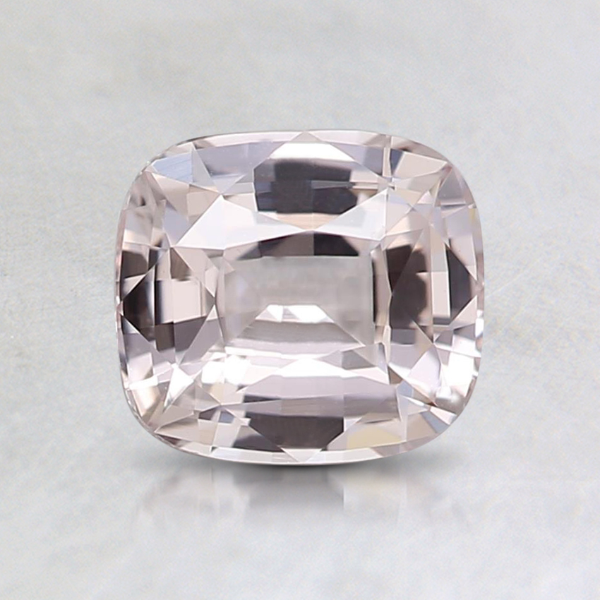 6.3x5.7mm Unheated Peach Cushion Sapphire