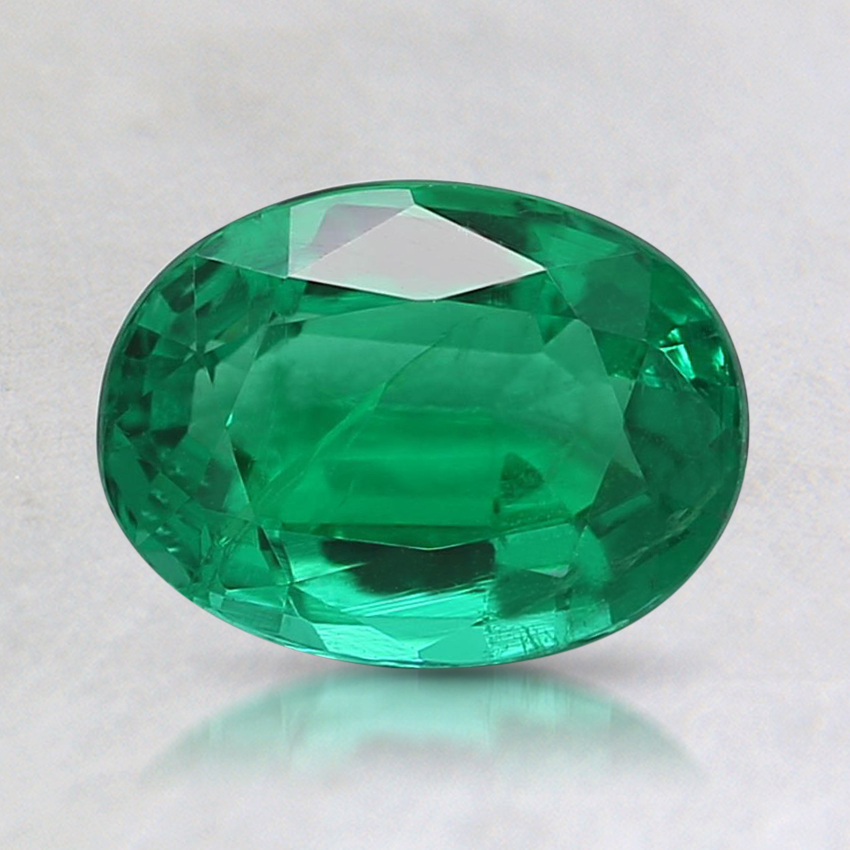 7.8x5.8mm Oval Emerald