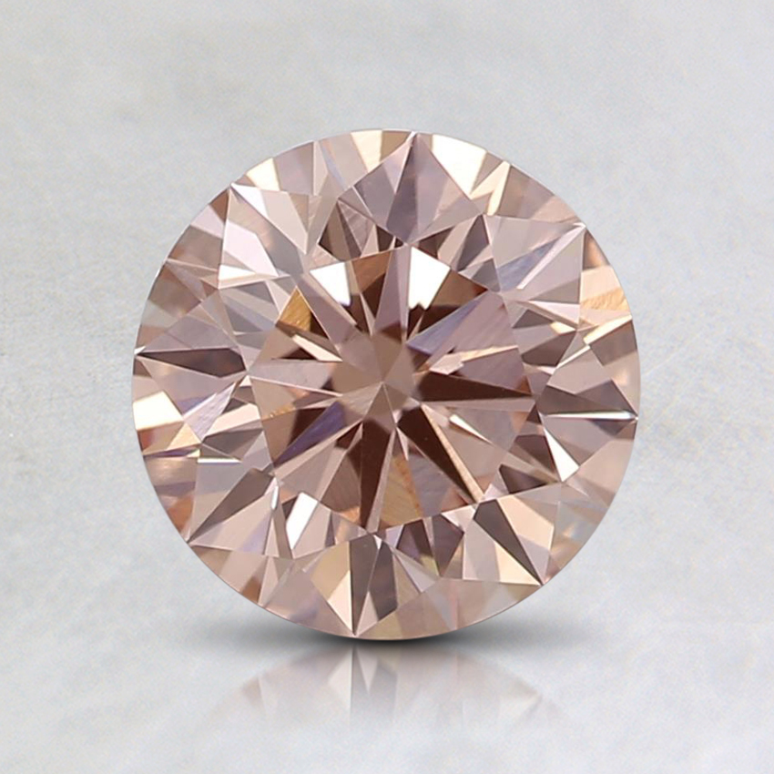 1.11 Ct. Fancy Light Pink Round Lab Created Diamond