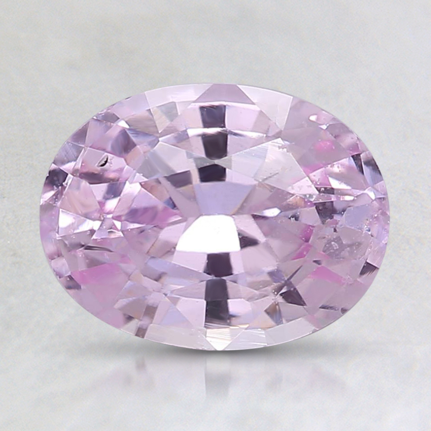 8.3x6.4mm Unheated Pink Oval Sapphire