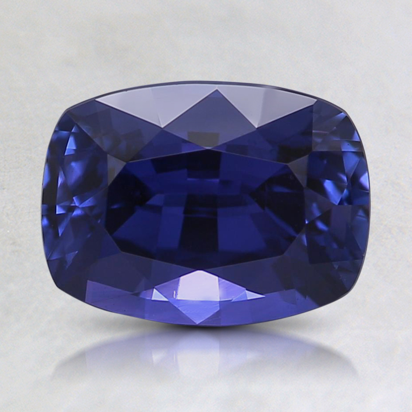 8.1x6mm Premium Purple Cushion Sapphire