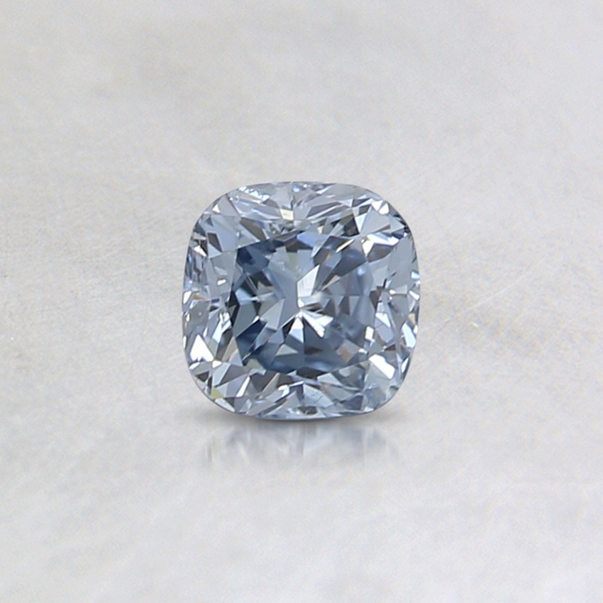 0.36 Ct. Fancy Vivid Blue Cushion Lab Created Diamond