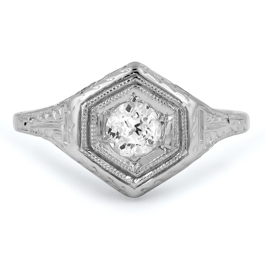 The Rumi Ring, top view