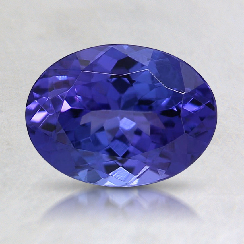 8x6mm Purple Oval Tanzanite