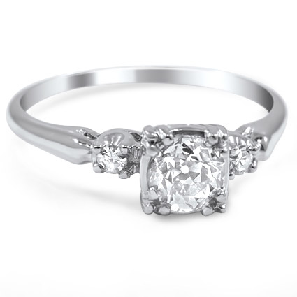The Carlotta Ring, top view